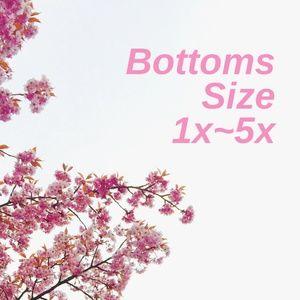 Pants - Bottoms Size 1X~5X